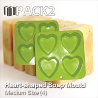 Soap Mould - Heart (Medium)