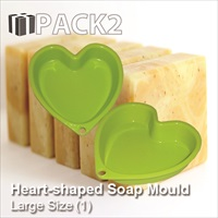 Soap Mould - Heart (Large)