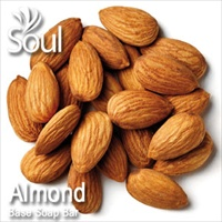 Base Soap Bar Almond - 500g