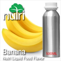 Food Flavor Banana - 500ml