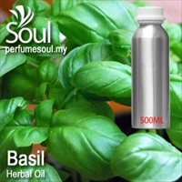 Herbal Oil Basil - 500ml