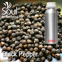 Herbal Oil Black Pepper - 500ml