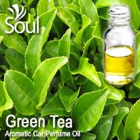 Green Tea Aromatic Car Perfume Oil - 50ml