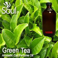 Green Tea Aromatic Car Perfume Oil - 500ml