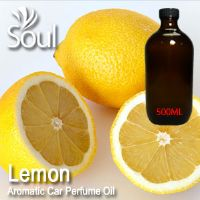 Lemon Aromatic Car Perfume Oil - 50ml
