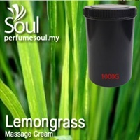 Massage Cream Lemongrass - 1000g