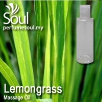 Massage Oil Lemongrass - 200ml
