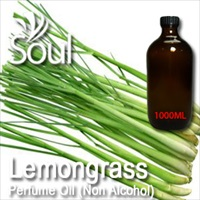 Perfume Oil (Non Alcohol) Lemongrass - 1000ml