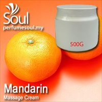 Massage Cream Mandarin - 500g