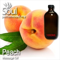 Massage Oil Peach - 1000ml