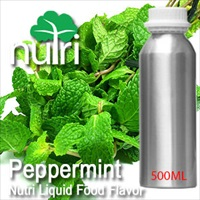 Food Flavor Peppermint - 500ml