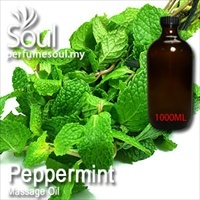 Massage Oil Peppermint - 1000ml