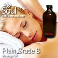 Massage Oil Plain Grade B - 1000ml