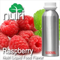Food Flavor Raspberry - 500ml