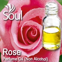 Perfume Oil (Non Alcohol) Rose - 50ml