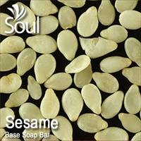Base Soap Bar Sesame - 1kg