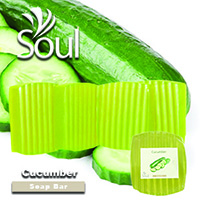 Base Soap Bar Cucumber - 500g