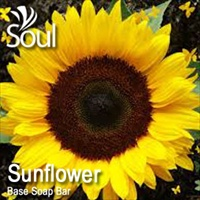 Base Soap Bar Sunflower - 500g