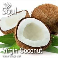 Base Soap Bar Virgin Coconut - 500g